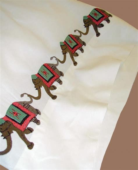elephant bed sheets elephant embroidered bedding sheets duvet covers bed linens