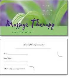 therapy gift certificate template free 5 best images of printable gift certificate