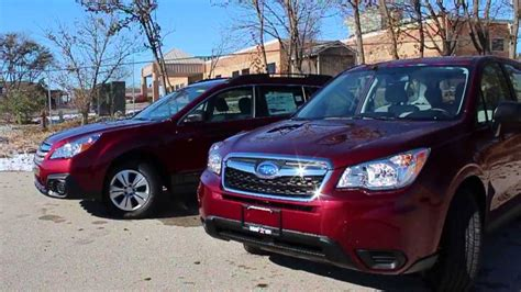 subaru outback vs forester subaru outback vs subaru forester what s the difference
