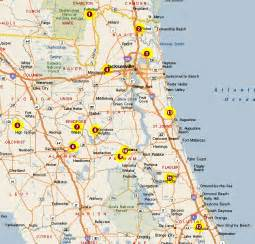 map of ne florida northeast florida clay target clubs
