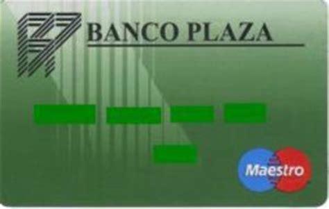 codigo banco 0075 tarjeta de banco banco plaza banco plaza col