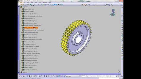 design engineer youtube design engineer 3d catia spur gear with key way youtube