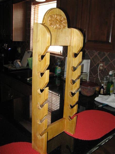 wooden cap rack plans plans diy free rocking