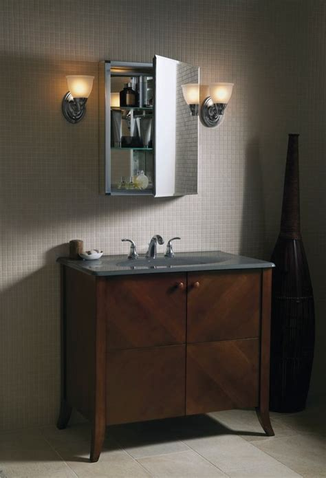 Kohler Bathroom Mirror Kohler K Cb Clc2026fs 20 By 26 By 5 Inch Single Door Aluminum Cabinet Home Improvement