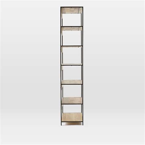 modular bookshelf industrial modular 33 quot bookshelf west elm
