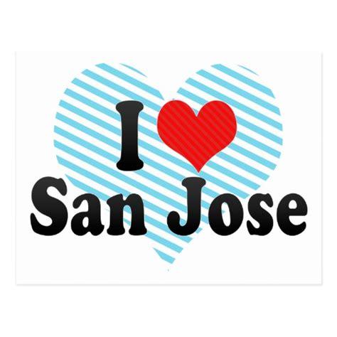 San Jose State Mba Cost by I San Jose Postcard Zazzle