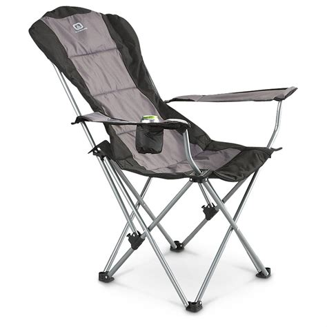 portable reclining chairs portable cmate recliner chair 584062 chairs at