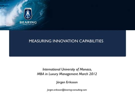 Mba Innovation And Technology Management by Bearing Consulting Innovation Management Seminar 2 At Ium