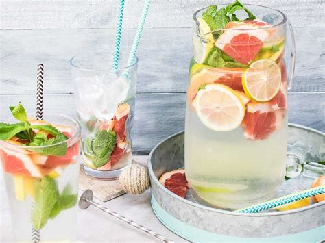 Grapefruit Lemon Lime Detox Water by 5 Detox Water Recipes For A Flatter Stomach S Magazine