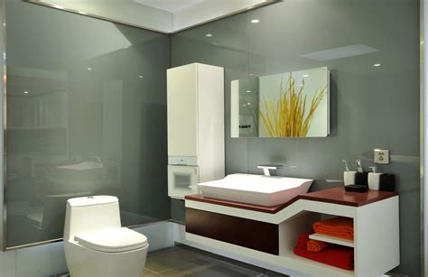 modern bathroom 3d interior design image 3d house