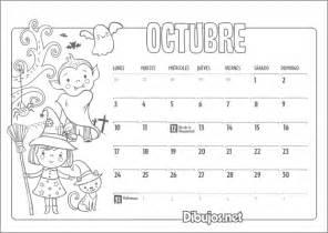 Calendario 0ctubre 2017 Calendario Infantil 2016 Para Imprimir Y Colorear
