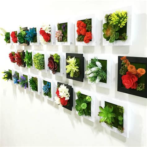 imitation plants home decoration compare prices on photo frame flower online shopping buy
