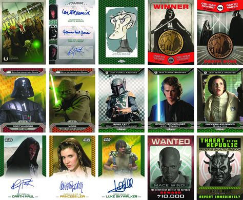 wars cards details on topps wars 2015 chrome perspectives jedi