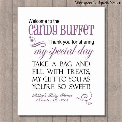 46 best images about candy buffet signs on pinterest