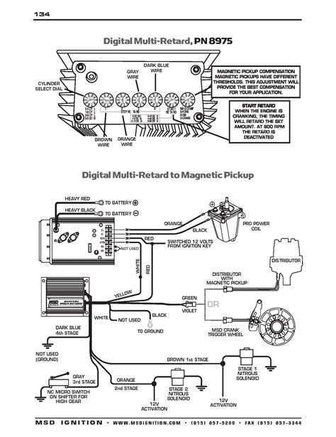 diagram wiring controller ignition msd 6ls diagram free