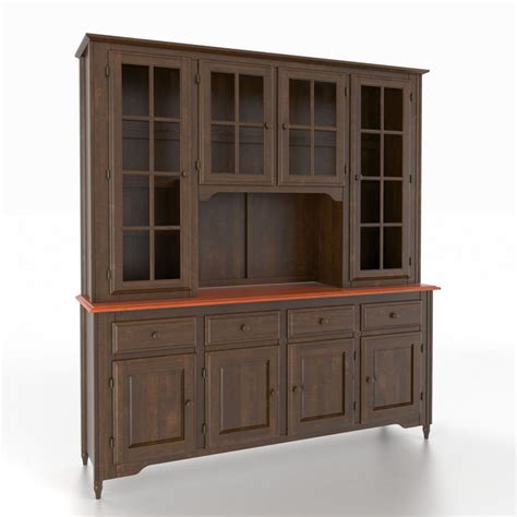 Contemporary Buffet And Hutch canadel buf7200oo hut7250oo custom dining classic