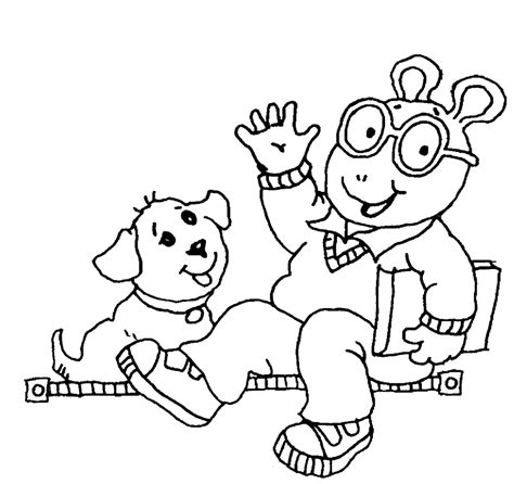 arthur coloring pages arthur coloring pages to and print for free