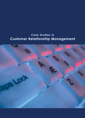 Customer Relationship Management Pdf For Mba by Studies In Customer Relationship Management