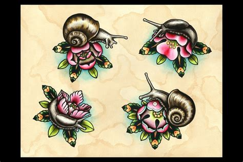 extreme tattoo sheffield snail tattoo images designs