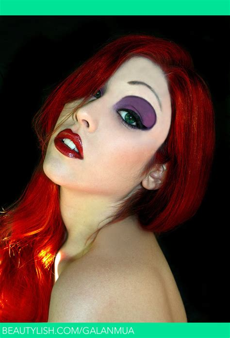 jessica rabbit makeup tutorial makeup transformations to inspire your halloween looks
