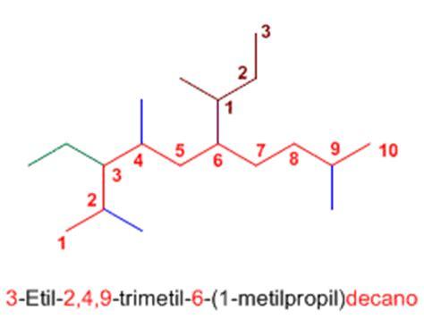 cadenas carbonadas de amidas ejercicios sobre nomenclatura de alcanos qu 237 mica org 225 nica