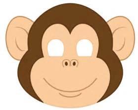 masque de singe 224 imprimer