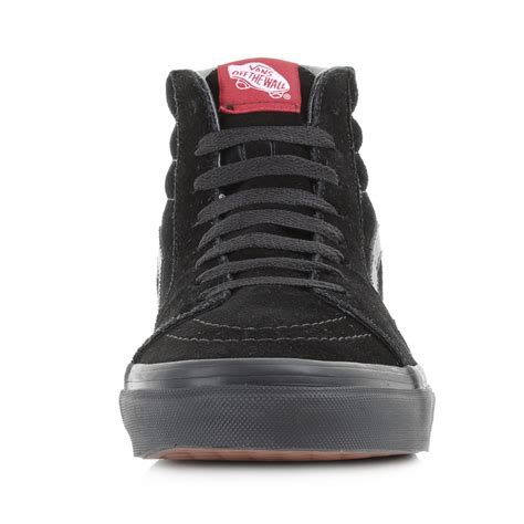 Vans Sk8 High Quality Casual Made In mens vans sk8 hi black black suede casual leather high top trainers shu size ebay