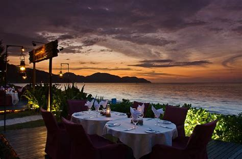 sunset dinner uncle zacks restaurant picture parkroyal penang resort malaysia batu ferringhi tripadvisor