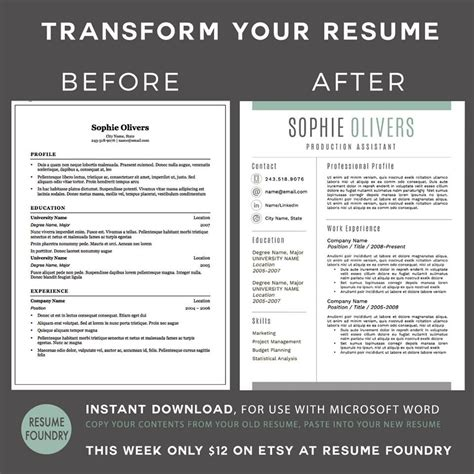 transform your resume into a modern version