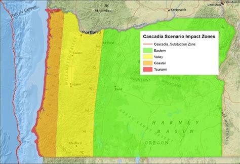 map of oregon earthquake zones oregon earthquake commission predicts potential catastrophe