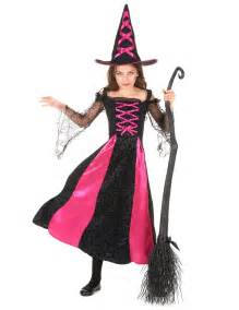 pink black friday sale witch costume for girls vegaoo