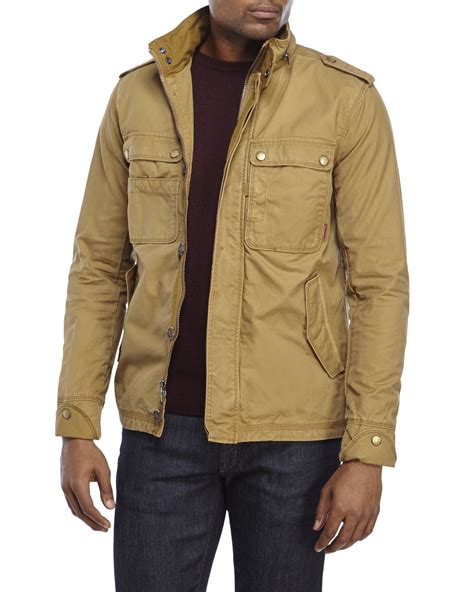 jeremiah paxton canvas jacket in for lyst