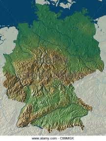 topographic map germany topographic map germany stock photos topographic map