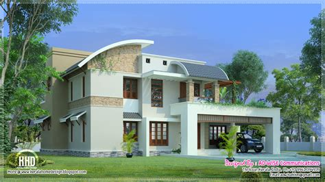 Exterior Home Design Photos Kerala Three Fantastic House Exterior Designs Kerala Home