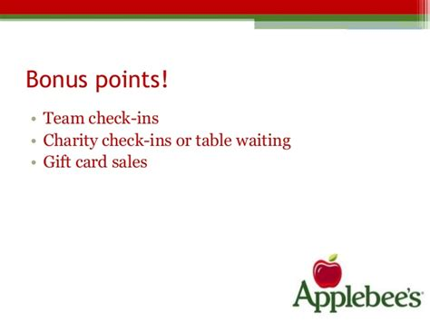 Applebee S Gift Card Balance Number - applebee s digital marketing plan