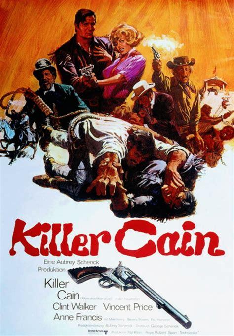 Plakat Filmu Kiler by Filmplakat Killer Cain 1968 Filmposter Archiv