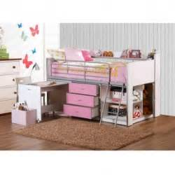 bunk beds for girls on sale white twin loft bed with desk foter