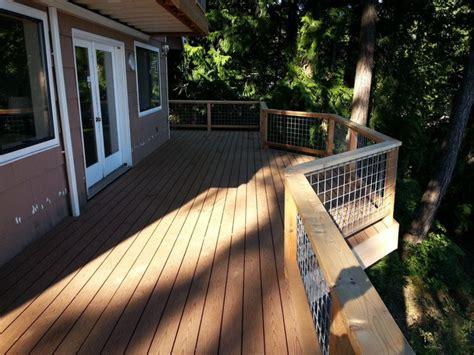 wrap around deck ideas custom wrap around deck and railing traditional deck