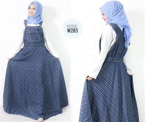Salur Pastel Kulot overall salur payung w283 baju style ootd