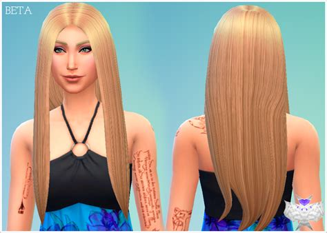 download hair and clothes for sims 4 new mesh beta hair david sims