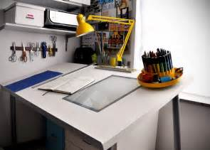 Ikea Drafting Table Make A Diy Drafting Table From An Ikea Desktop Ikea Hackers Ikea Hackers