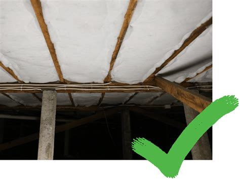 underfloor insulation highest quality polyester rolls