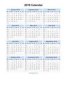 Kalender 2018 Xls 2018 Calendar Excel Weekly Calendar Template