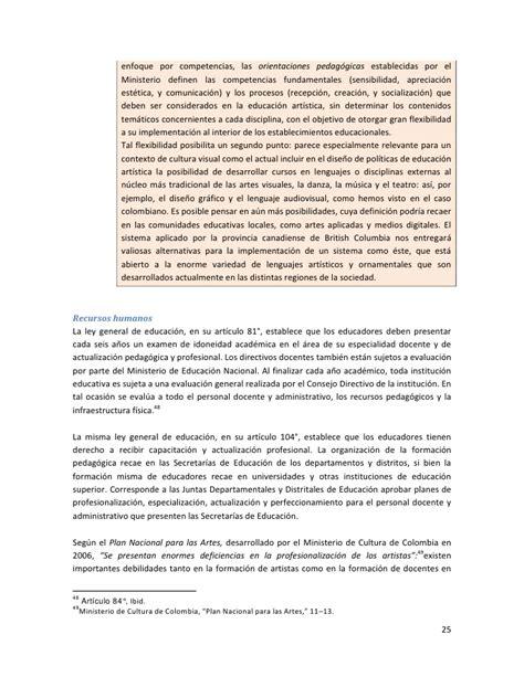 Diseño Curricular Por Competencias Colombia Aprende Estudio Diagn 243 Stico Sobre Implementaci 243 N De Marcos Curriculares Plan