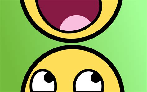 Kaos Awesome Smiley 2 awesome smiley wallpaper by cluny2300 on deviantart