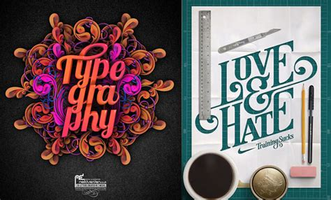 design inspiration type 35 creative typography design master pieces for your