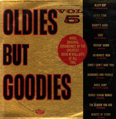 Oldie But Goodie Are Outlet Malls The Inn Of The Millennum by Various Oldies But Goodies Vol 5 Lp Vinyl Record Album