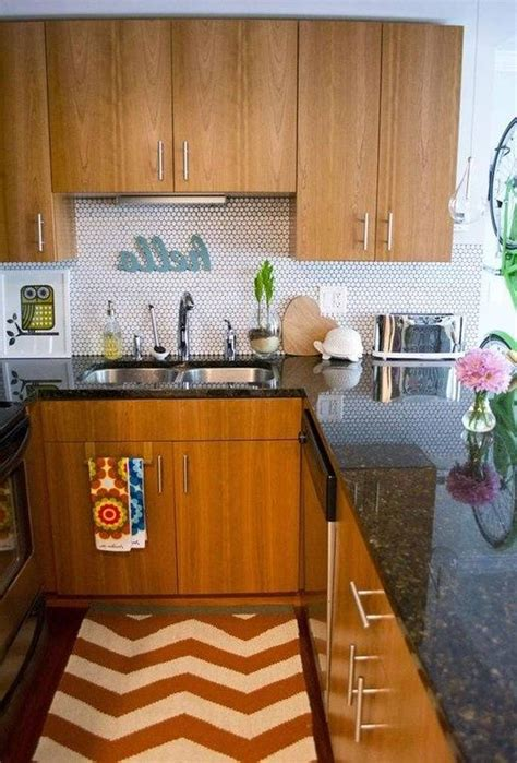 small kitchen countertop ideas vintage apartment kitchen innovative modern vintage