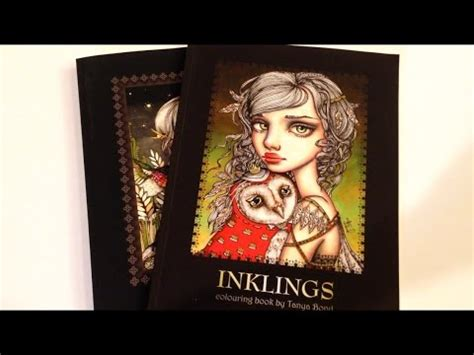 inklings 3 colouring book by bond coloring book for adults and children featuring 24 single sided illustrations by and other charming creatures volume 5 books flip through inklings coloring book by bond