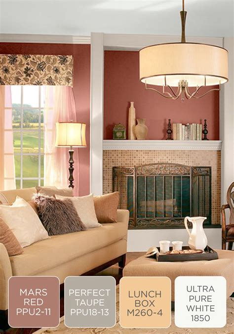 cozy with a touch of behr paint in tuscan elegance this color scheme inspiration is truly one